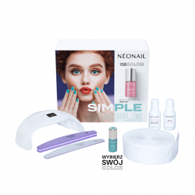 Zestaw startowy NeoNail SIMPLE One Step Color Protein BASIC