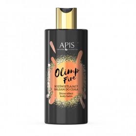 APIS Olimp Fire Rozświetlający balsam do ciała, 300ml