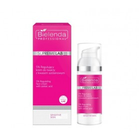 BIELENDA Sensitive Skin 5% Regulujący krem do twarzy z kwasem azelainowym 50ml