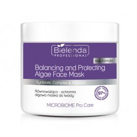 BIELENDA MICROBIOME Pro Care Równoważąco-ochronna maska algowa do twarzy 160 g