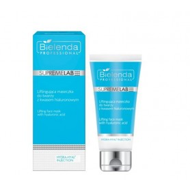 BIELENDA Hydra-Hyal2 Injection Liftingująca maseczka do twarzy z kwasem hialuronowym 70ml