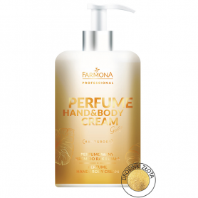 FARMONA PERFUME HAND&BODY CREAM Gold 300ml