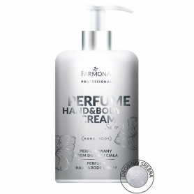 FARMONA PERFUME HAND&BODY CREAM Silver 300ml