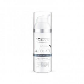BIELENDA X – FOLIATE - Clear Skin krem z kwasami do skóry trądzikowej 50 ml