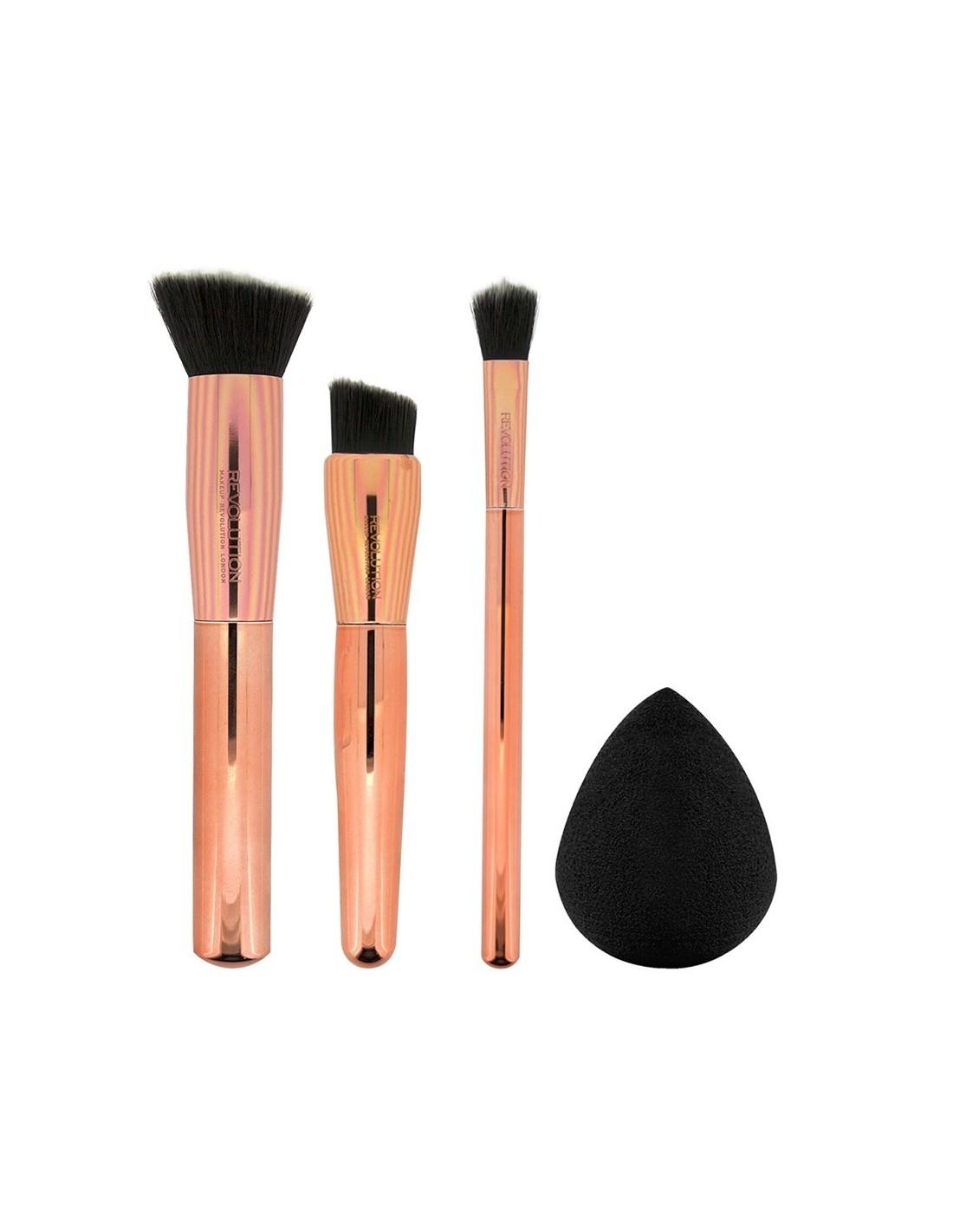 makeup revolution highlighter palette paleta roz wietlaczy. Black Bedroom Furniture Sets. Home Design Ideas