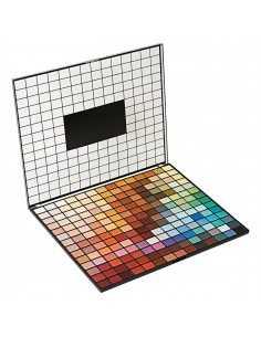 Makeup Revolution Colour Spectrum paleta 196 cieni do powiek