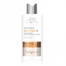 APIS TRICHOLOGICAL CARE Delikatny szampon do włosów o różnej porowatości 300ml