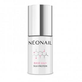 NEONAIL Lakier Hybrydowy UV 7,2 ml - Base 6 in1 Silk Protein