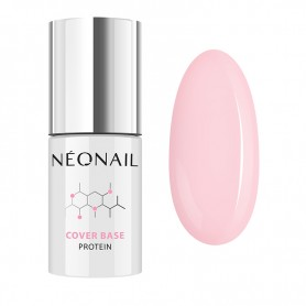 NEONAIL Lakier Hybrydowy 7,2 ml Cover Base Protein Nude Rose