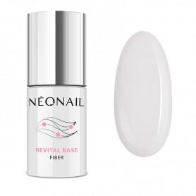 NEONAIL Lakier hybrydowy 7,2 ml - Revital Base Fiber Shiny Queen