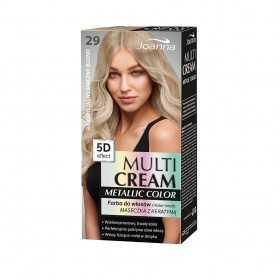 Joanna Multi Cream Metallic Farba do włosów Bardzo jasny
