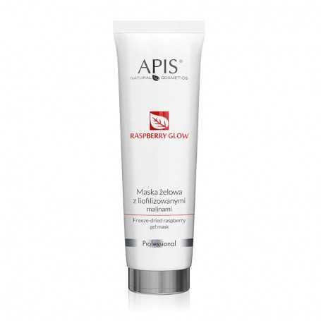 APIS Maska żelowa z liofilizowanymi malinami 100 ml