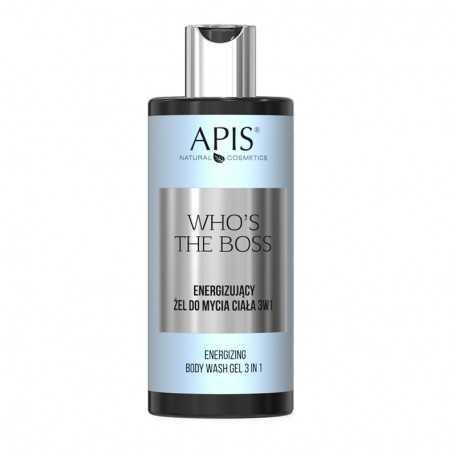 APIS Who's the Boss Energizujący żel do mycia ciała 3w1 300ml