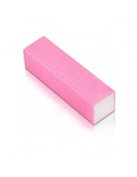 Czterostronny blok polerski różowy NeoNail