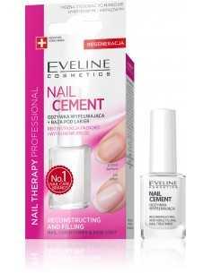 Eveline Nail Therapy Lakier odżywka Nail Cement wypełniająca