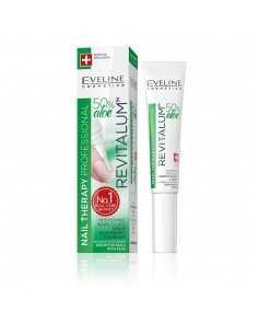 Eveline Nail Therapy Nawilżające serum do paznokci z aloesem