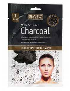 Beauty Formulas Charcoal Maseczka detoksykująca bąbelkowa z