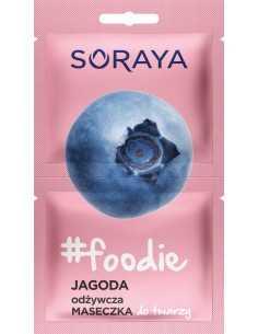 Soraya Foodie Jagoda Odżywcza Maseczka do twarzy 2x5ml