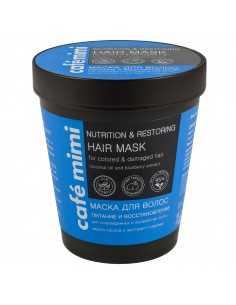 Cafe Mimi Kubeczek Maska do włosów odbudowująca -włosy