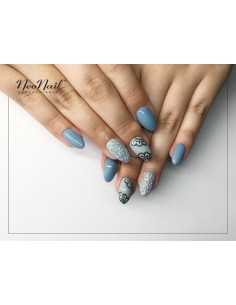 Nail Art Stikers Mollon Pro J096PG naklejki do zdobienia
