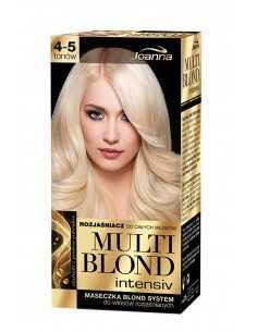 Joanna Multi Blond Intensiv Rozjaśniacz do całych włosów 4-5