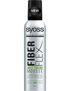 Schwarzkopf Syoss Fiber Flex Pianka do włosów mocna Flexible