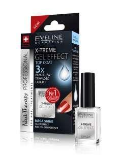 Eveline Nail Therapy Lakier odżywka X-Treme Gel Effect-płynne