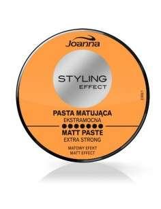 Joanna Styling Effect Pasta matująca do włosów extra mocna 80g
