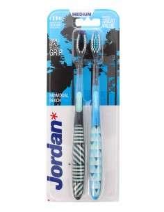 Jordan Szczoteczka do zębów DUO Individual Reach Medium - mix