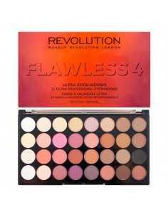 Makeup Revolution paleta 32 cieni Flawless 4