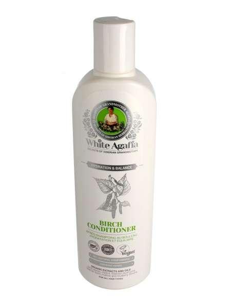 Biała Agafia Balsam do włosów brzozowy - nawilżanie i balans