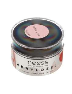 NEESS Akrylożel do paznokci Dark Pink (7897) 15g