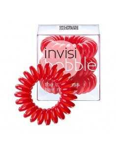 Invisibobble Raspberry Red 3 sztuki