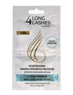 Long 4 Lashes Ekspresowa Maska-Serum do włosów Hydro Power 6mlx2