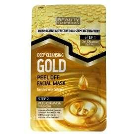 Beauty Formulas Gold Złota Maseczka oczyszczająca na twarz
