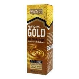 Beauty Formulas Gold Złota Maseczka rewitalizująca na twarz