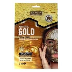 Beauty Formulas Gold Złota Maseczka odżywcza na twarz 1szt