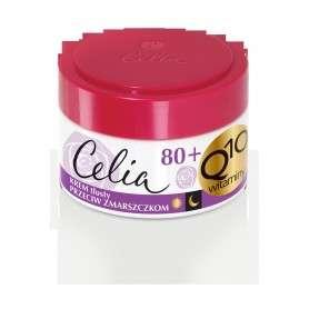 Celia Q10 Witaminy 80+ Krem tłusty przeciw zmarszczkom na dzień