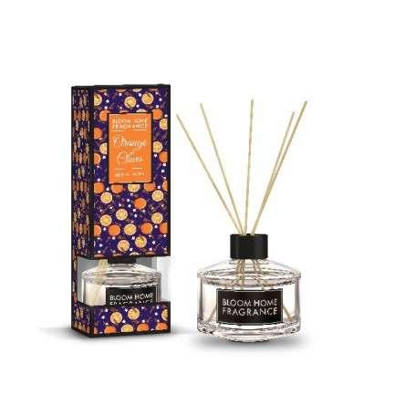 Bloom Home Fragrance Olejek zapachowy + patyczki Orange &