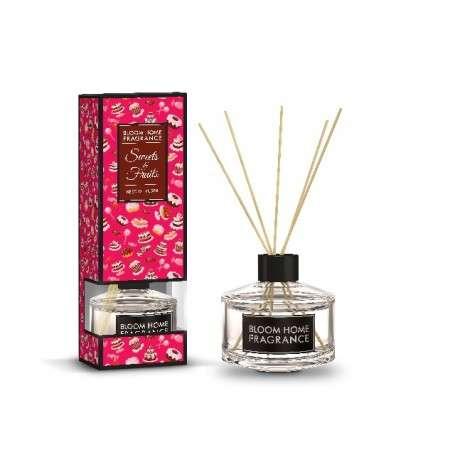 Bloom Home Fragrance Olejek zapachowy + patyczki Sweet & Fruits