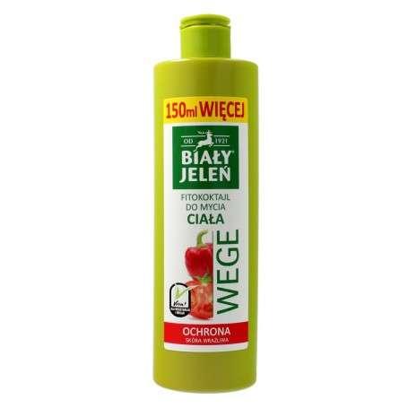 Biały Jeleń Wege Fitokoktajl do mycia ciała ochronny Pomidor i