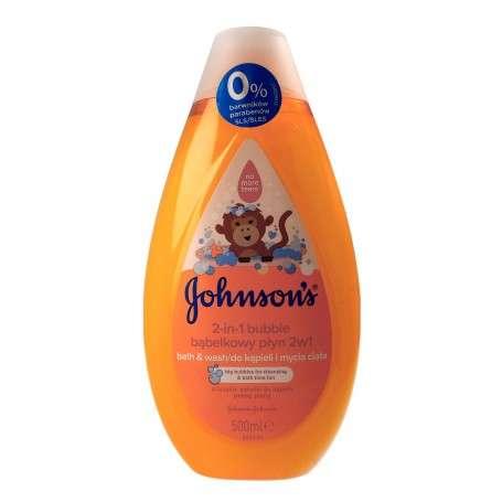 Johnson's Baby Bubble Bąbelkowy Płyn do kąpieli 2w1 dla dzieci