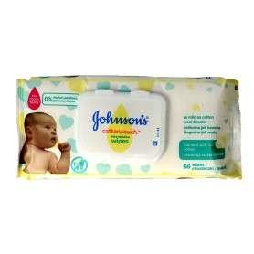 Johnson's Baby Cotton Touch Chusteczki nawilżane dla dzieci