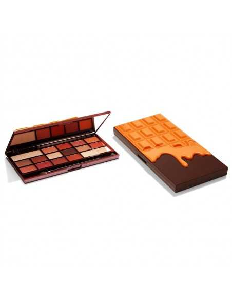 Makeup Revolution Orange Chocolate paleta cieni do powiek