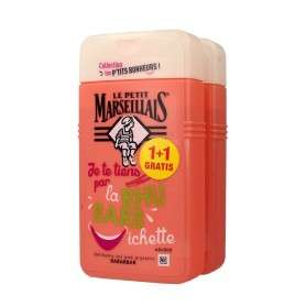 Le Petit Marseillais Żel pod prysznic Rabarbar 1+1 gratis