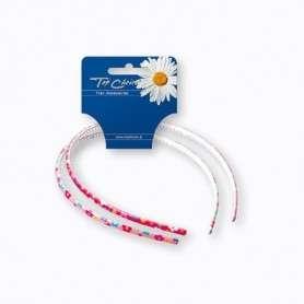 Top Choice Akcesoria do włosów Opaska w kwiatki (27475)