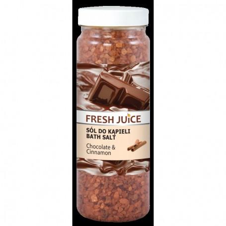 Fresh Juice Sól do kąpieli Chocolate & Cinnamon 700g