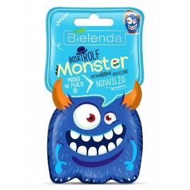 Bielenda Monster Maska w płacie 3D nawilżająca Boski Rolf 1szt