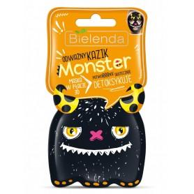 Bielenda Monster Maska w płacie 3D detoksykująca Odważny Kazik