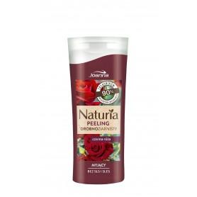Joanna Naturia Peeling do ciała drobnoziarnisty Czarna Róża 100g